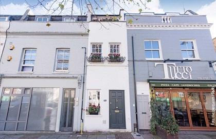 Prodaje se Uzana kuća: milion funti za trospratnicu široku 2,3 metra