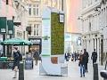 """U Londonu postavljena """"zelena"""" klupa koja upija smog"""