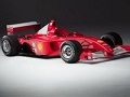 Schumacherov bolid prodan za 7,5 miliona dolara